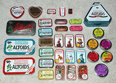 Hundreds of things to do with an old Altoids tin.