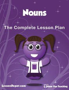 Nouns Lesson Plan