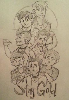 Outsiders: Stay Gold by lewisrockets on DeviantArt<<The pic of Darry tho XDXDXD The Outsiders Preferences, The Outsiders Imagines, The Outsiders 1983, The Outsiders Darry, Nothing Gold Can Stay, Stay Gold, Art Sketches, Art Drawings, Greaser Girl