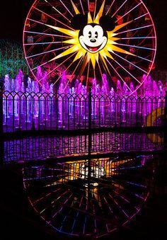 'World of Color' at Disney California Adventure Park #Disneyland