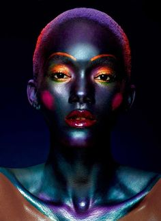 Christina Lutz Makeup Artist | Beauty | Photography Artistic #editorial black colorful