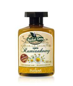 Herbal Care Chamomile Shampoo for Bleached & Blond Hair 300 ml | Szampon Rumiankowy - Farmona Laboratorium Kosmetyków Naturalnych