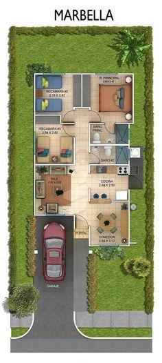 Hacienda Santa Fe, Província do Panamá - BuyOAlquile - floorplans - Sims House Plans, Small House Floor Plans, House Layout Plans, Family House Plans, Dream House Plans, House Layouts, House Floor Design, Sims House Design, Home Design Floor Plans