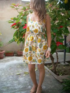 Miniabito+in+seta+di+MelinaECris+su+DaWanda.com Summer Dresses, Fashion, Moda, Sundresses, La Mode, Fasion, Summer Clothing, Fashion Models, Summer Outfits