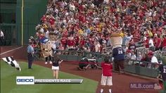 We miss mascots, so why not GIF some of their best moments from 2014? Like when Teddy Roosevelt leveled the Pirates Pierogi