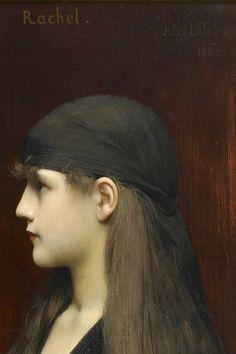 Rachel (detail), Jules Joseph Lefebvre, 1888