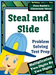 Just Published Test Prep Baseball's Steal and Slide Method - Two By Two Digits Multiplication