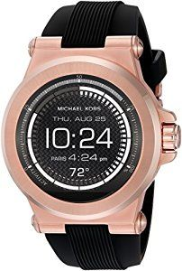 Powered by Android Wear. Compatible with iPhone and Android devices. Technology meets style with our Michael Kors Access Collection. Fully personalize your watch by selecting or customizing the watch face of your choice and changing out the straps to match your activity or look. Stay connected with display notifications including texts, calls, emails, and keep track of your fitness goals by tracking your sleep, steps, and calories. With countless options, your watch face and strap adapt to…
