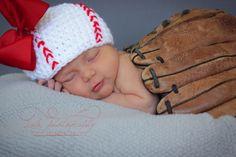 Newborn Photography Girl - Sports - Baseball - cute Blog — LaLa Photography