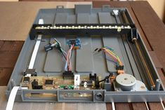 Old Scanner Transformed Into a PCB UV Exposure Unit