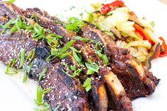 Kalbi Korean Beef Short Ribs Recipe