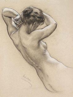 Herbert James Draper 1863-1920    British Classicist painter