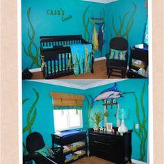 Cash's Ocean themed nursery