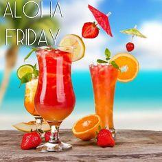 Happy Aloha Friday! Click the image for some YUMMY Hawaiian drink recipes :)
