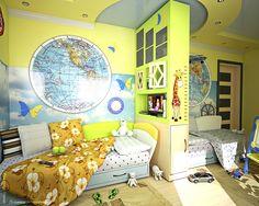 детская комната дизайн мальчик девочка: 21 тыс изображений найдено в Яндекс.Картинках