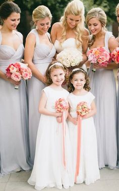 Items similar to The Charlotte Dress / Ivory Flower Girl Dress / Rhinestone Sash / MANY colors available {DESIGN No. on Etsy Wedding Bridesmaid Flowers, Ivory Wedding, Best Wedding Dresses, Wedding Poses, Wedding Colors, Wedding Ideas, Ivory Flower Girl Dresses, Flower Girls, Wedding Designs