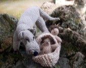 Défi de juin 2012 : la Louve de Rome : Jeux, jouets par babiolesdeceline sur ALittleMarket