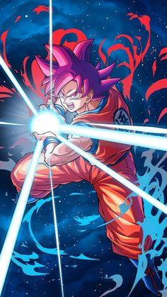 Goku Super Saiyan God card 2 [Bucchigiri Match] by Dragon Ball Gt, Dragon Ball Image, Wallpaper Do Goku, Dragonball Wallpaper, Mobile Wallpaper, Photo Dragon, Manga Font, Foto Do Goku, Son Goku