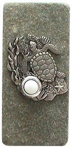 Expressions LTD Ocean Coral Reef Sea Turtle Stone Doorbell $41.95 with stone selection and mounting style