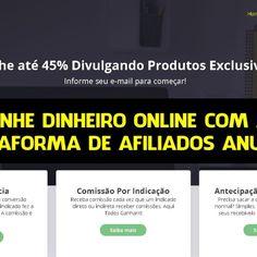 Ganhe Dinheiro Online com a Plataforma Anuncii de Afiliados