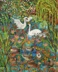 """Saatchi Art Artist Sabrina J Squires; Painting, """"The Ugly Duckling"""" #art"""