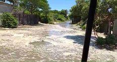 San Mateo del Mar sufre afectaciones por fenómeno de Mar de Fondo.