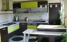 Mobila bucatarie Green executata la comanda Sweet Home, Kitchen Cabinets, Home Decor, Decoration Home, House Beautiful, Room Decor, Cabinets, Home Interior Design, Dressers