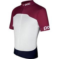 (ピーオーシー) POC メンズ サイクリング ウェア Raceday Climber Jersey 並行輸入品  新品【取り寄せ商品のため、お届けまでに2週間前後かかります。】 カラー:Granate Red/Hydrogen White カラー:-