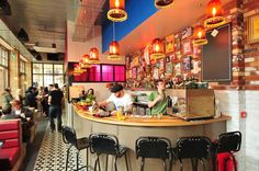 new Mexican restaurant in Trinity Leeds - Cielo Blanco - our latest project with Leelex Ltd Latin American Restaurant, New Mexican Restaurant, Brazilian Restaurant, Leeds, Mexican Drinks, Excellence Award, Cafe Interior Design, Restaurant Concept, Small Bars