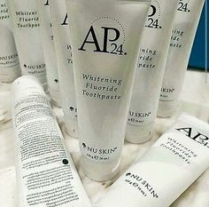 This is our bestselling Whitening toothpaste. It's non-abrasive and contains NO peroxides making it really safe and gentle for your teeth and gums. Best Whitening Toothpaste, Whitening Fluoride Toothpaste, Anti Aging Serum, Anti Aging Skin Care, Ap 24, Dark Eye Circles, Dental Teeth, Tone It Up, Skin Cream