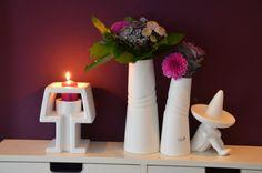 Cooles Windlicht mit Stil! Lampada erinnert an einen Lampenschirm und bringt Licht ins Dunkle - super Dekoidee | VALENTINO Wohnideen