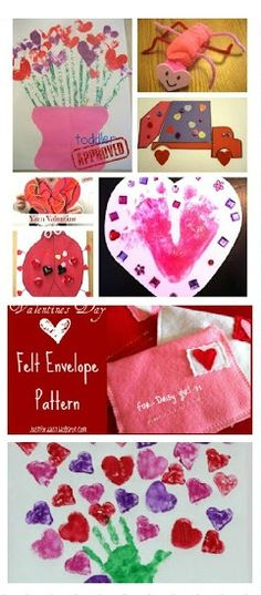 MEGA list of Valentines Crafts for Kids- so many fun ideas!