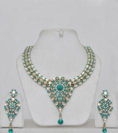 kundan jewellery online | kundan jewelry set with stones kundan jewellery tops earrings kundan ...
