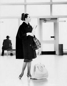 Fashion photo by Georg Oddner, 1950s