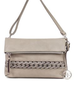 Look what I found on #zulily! Gray Bonita Crossbody Bag by Jessica Simpson Collection #zulilyfinds