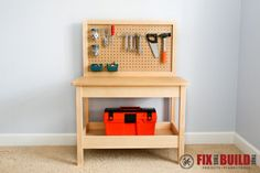 DIY Kids Workbench-6