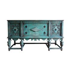 Solid Oak Sideboard, Sideboard Cabinet, Home Bar Rooms, Dining Room Buffet, Old World Style, Jacobean, Furniture Makeover, Bees, Living Rooms