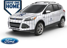 Win a New York Yankees Special Edition 2012 Ford Escape. Restrictions: 18+, USA  Expires: July 6, 2012