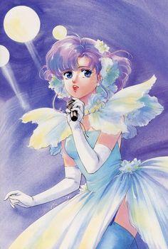 Art by Akemi Takada for Creamy Mami, the Magical Angel. 高田明美, クリィミーマミ