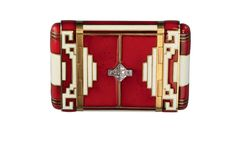 art deco cigarette case by  by Chaumet