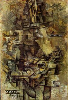 La mandoliniste 1911. Pablo Picasso (1881-1973)