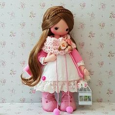 Knitted Dolls, Crochet Toys, Fabric Dolls, Paper Dolls, Doll Toys, Baby Dolls, Enchanted Doll, Kawaii Doll, Doll Hair