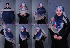 Hijab Tutorial                                                                                                                                                                                 More