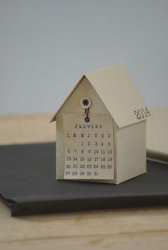 house calendar // La boutique de Mô