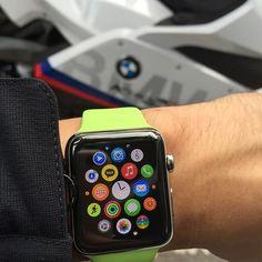 #애플워치 #apple #applewatch 타고 바이크 타니 디게 편하네... #bmw #bike #motorcycle by leegio78