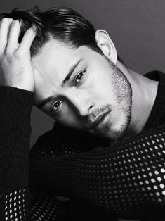 Brazilian model Francisco Lachowski photographed by Dimitris Theocharis.