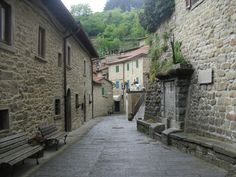 typical village (Casentino, Tuscany, Italy)