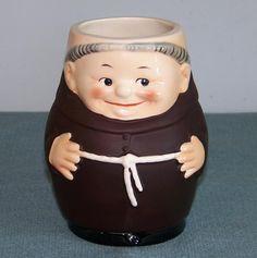 Goebel Friar Tuck Monk Beer Mug T74/1 Half Liter $25