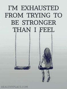 You dont have to be strong all the time. Fighting cancer doesnt mean always being strong #cancersucks