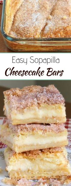 This version of sopapilla cheesecake bars is quick and easy with minimal effort…. This version of sopapilla cheesecake bars is quick and easy with minimal effort. It starts and ends with Crescent Rolls, with simplest cheesecake filling. Brownie Desserts, Easy Desserts, Delicious Desserts, Yummy Food, Yummy Snacks, Yummy Mummy, Healthy Desserts, Coconut Dessert, Oreo Dessert